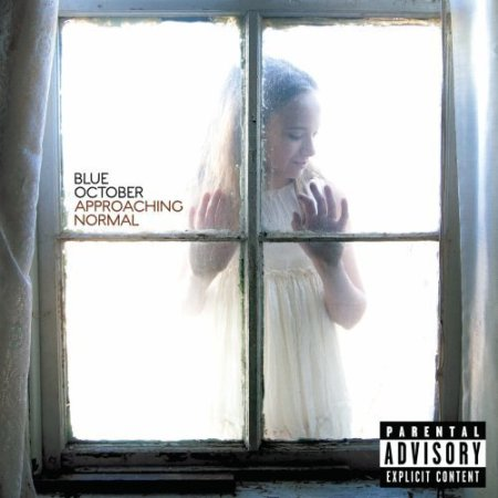"Blue October ""Approaching Normal"" CD cover"